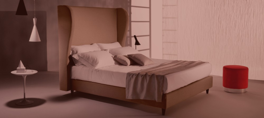 Headboard and sommiers